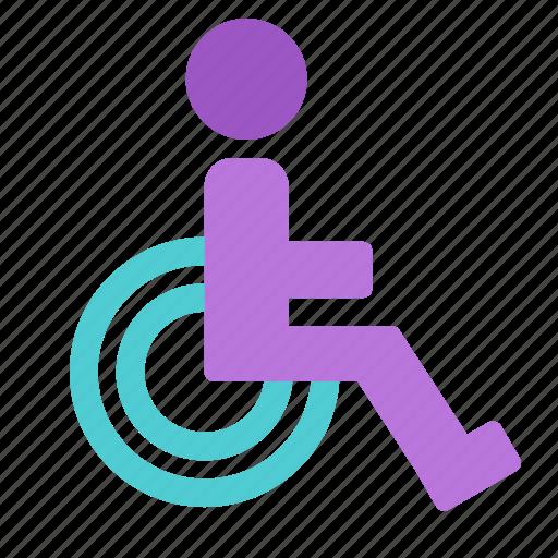 avatar, disabled, handicap, mark icon