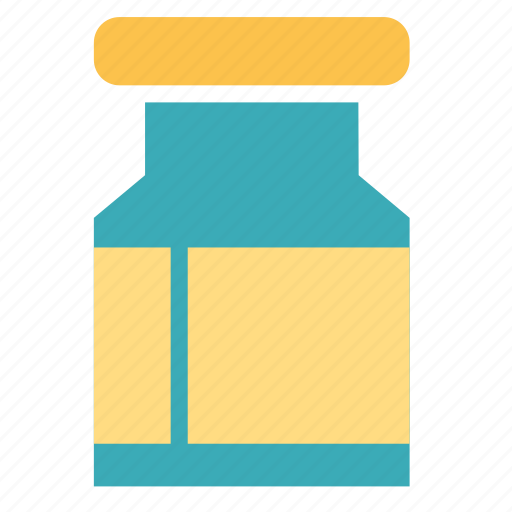 container, drugs, jar, pills icon