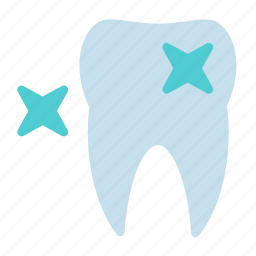 clean, star, teeth, tooth icon