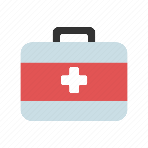 doctor, first aid kit, health care, hospital, medic bag icon