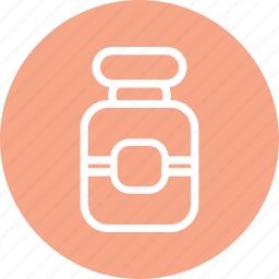 container, drug container, pills container, vaccin icon