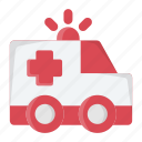 ambulance, emergency, health, medical, siren, urgent, vehicle