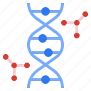 biology, dna, genetic, science, structure icon