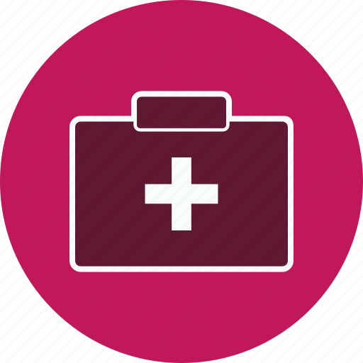 aid box, emergency, first aid, first aid box icon