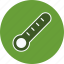 fever, temperature, thermometer icon