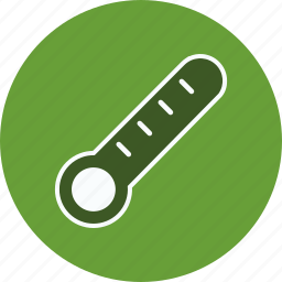 fever, medical, temperature, thermometer icon