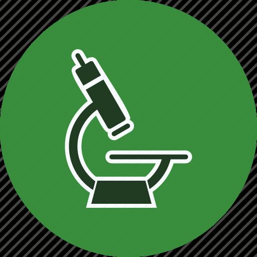 microscope, research icon