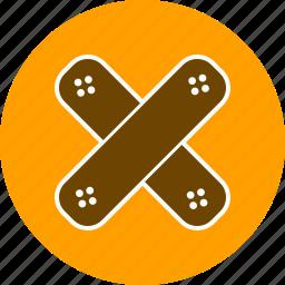 band aid, bandage, emergency, treatment icon