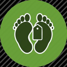 dead body, death, toe tag icon