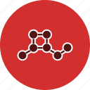 atoms, molecular, structure icon