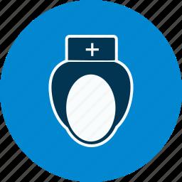 avatar, medical, nurse icon