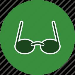 eye glasses, spectacles, sun glasses icon