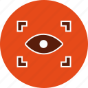 eye, eye scan, iris scan, scan icon