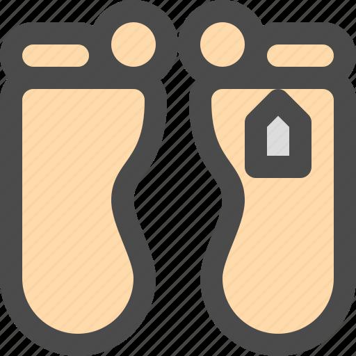 dead, death, foot, medical icon