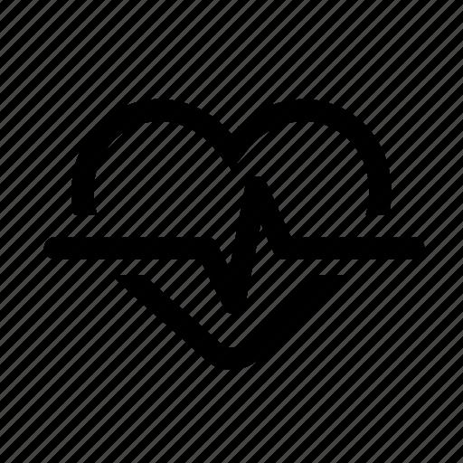 blood, body, ekg, health, heart, medical, pulse icon
