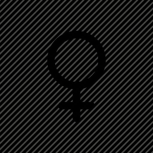 female, gender, lady, medical, sign, symbol, woman icon