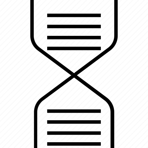 Biology, dna, dna chain, dna helix, dna strand, genetics, science icon - Download on Iconfinder