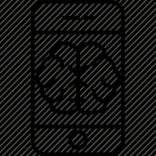 Body organ, body part, brain, human brain, human organ, online human brain app icon - Download on Iconfinder