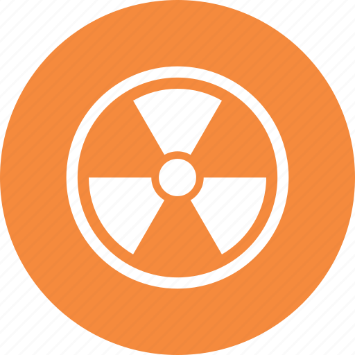 danger, nuclear, radioactive, toxic icon