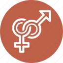 female, gender, male, venus icon