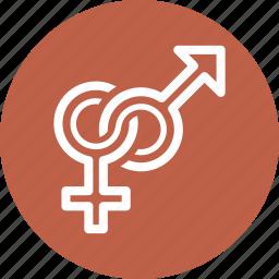 female, gender, male, venus icon