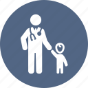 child care, doctor, family medicine, pediatrics icon
