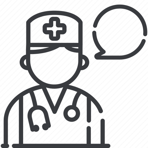 ask a doctor, medical consultation, medical question icon