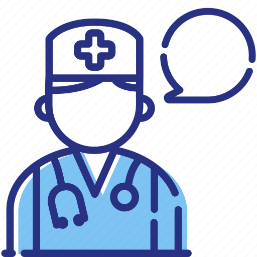 ask a doctor, medical consultation, medical help, medical question icon