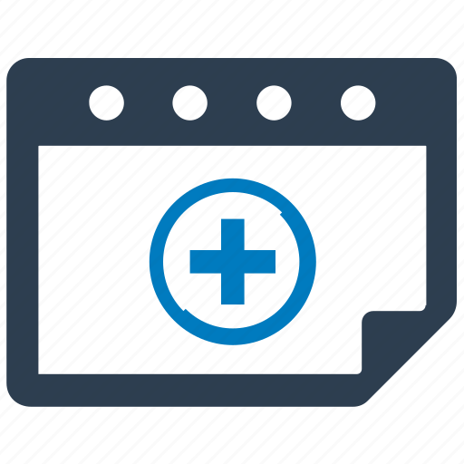 appointment, calendar, doctor, medical, schedule icon