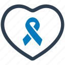 awareness, day, heart, heart awareness, ribbon, world icon