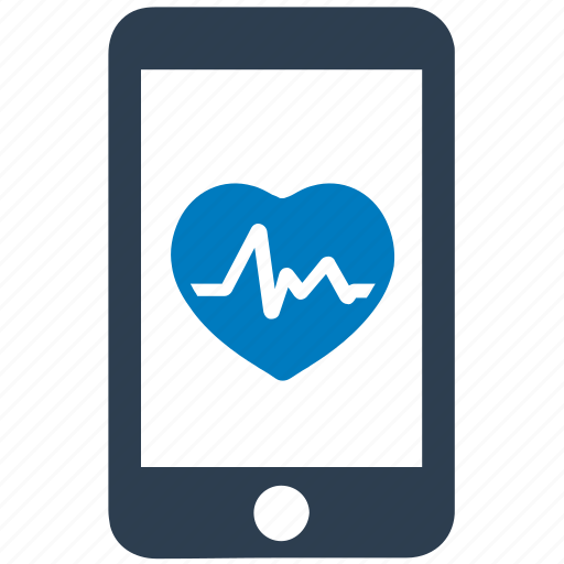 care, health, heart, medical, mobile icon