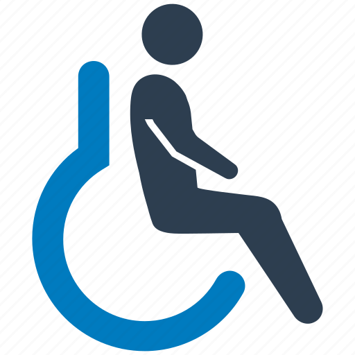 accessible, disability, disabled, handicap, handicapped, wheelchair icon