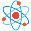 atom, atomic, electron icon