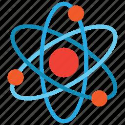 atom, atomic, electron icon