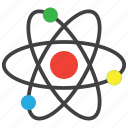 atom, atomic, physics icon