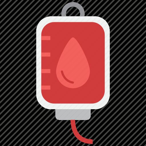 blood, transfusion icon