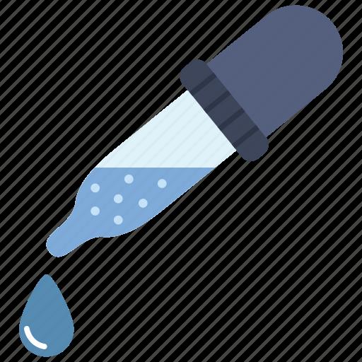 chemical, dropper, pipette icon