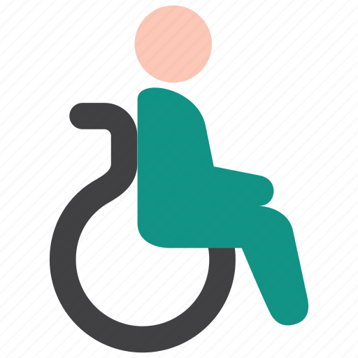 disability, handicap, patient icon