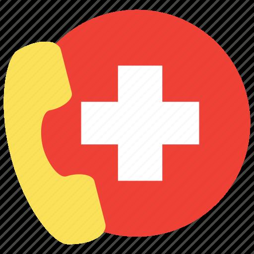 ambulance, consultation, doctor icon