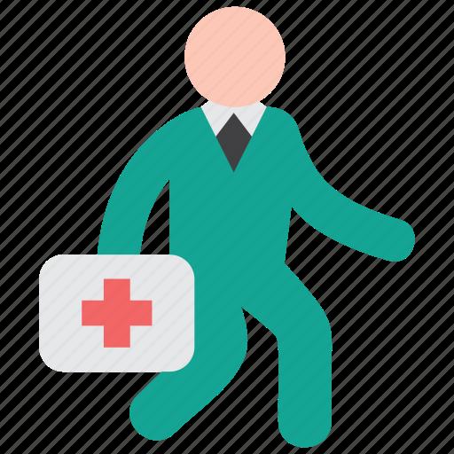 doctor, duty, emergency icon