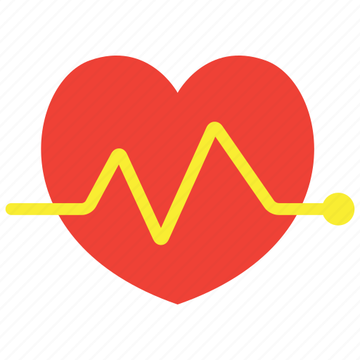 beat, electrocardiogram, electrocardiography, heart icon
