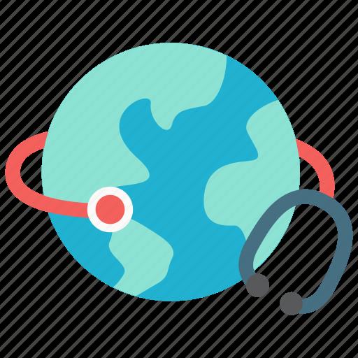 global, health, healthcare, medicine icon