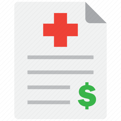 expense, health, insurance icon