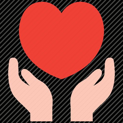 care, heart icon
