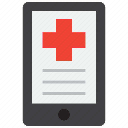 health, medical, mobile icon
