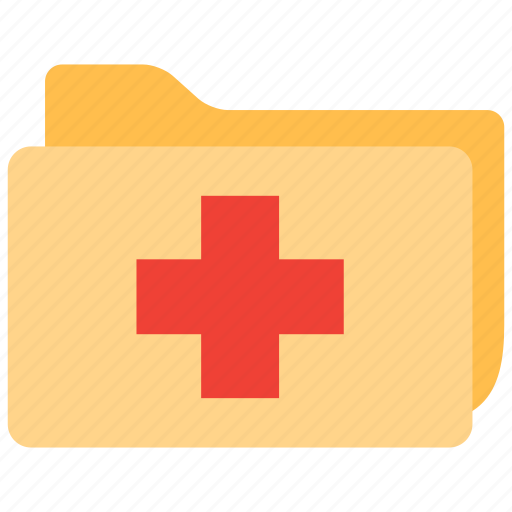 files, medical, patient, records icon
