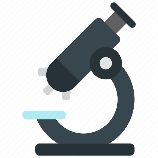 experiment, lab, microscope, research icon