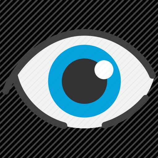 eyesight, ophthalmology, sight, view icon