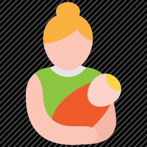 care, child, mother, newborn, postnatal icon