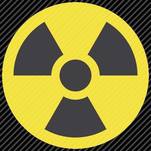 radiation, radioactive icon